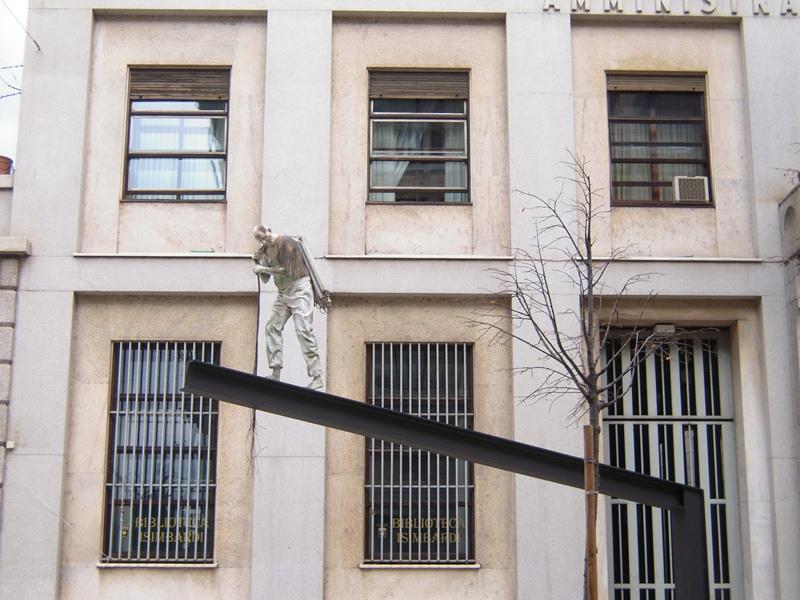 Скульптура в Милане
