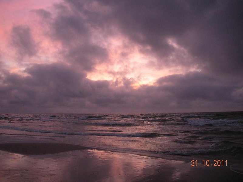 Балтийское море осенью