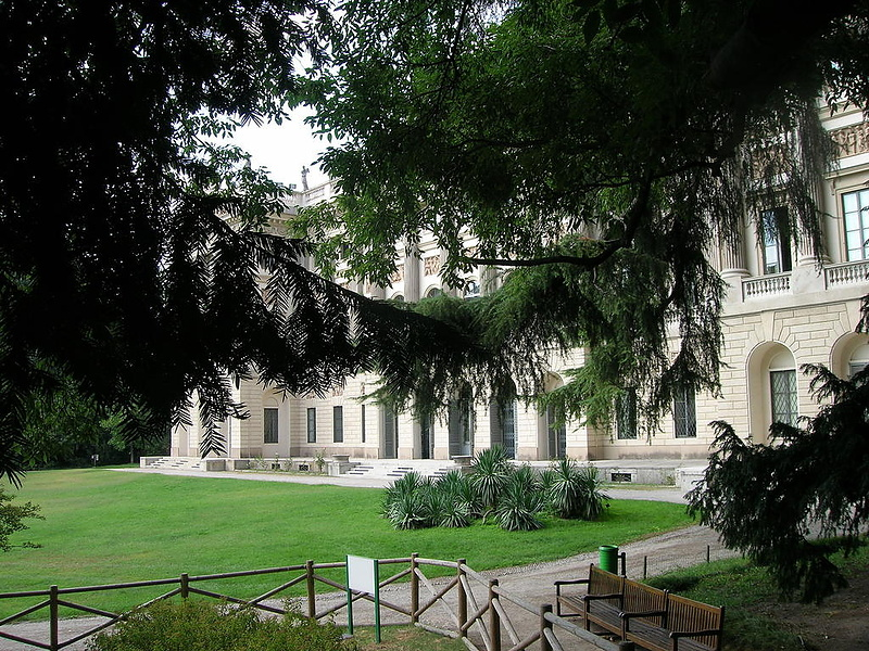 Парк Villa Reale, Милан