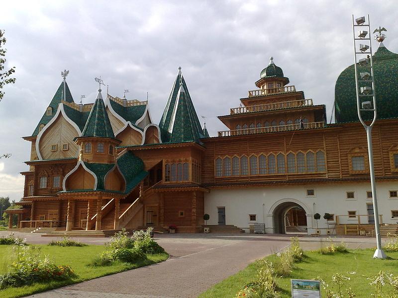 Дворец Алексея Михайловича в Коломенском 2