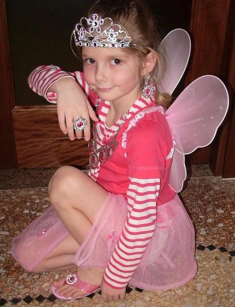 Дочка Женя - новая фея