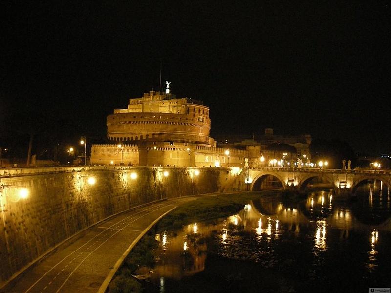 ночью в Риме...