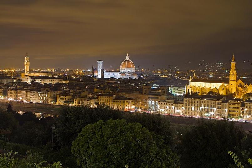 Флоренция сегодня вечером