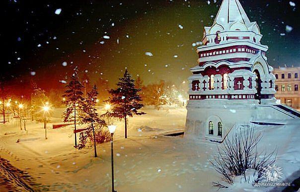 Для тех, кто соскучился по снежку №2 :))