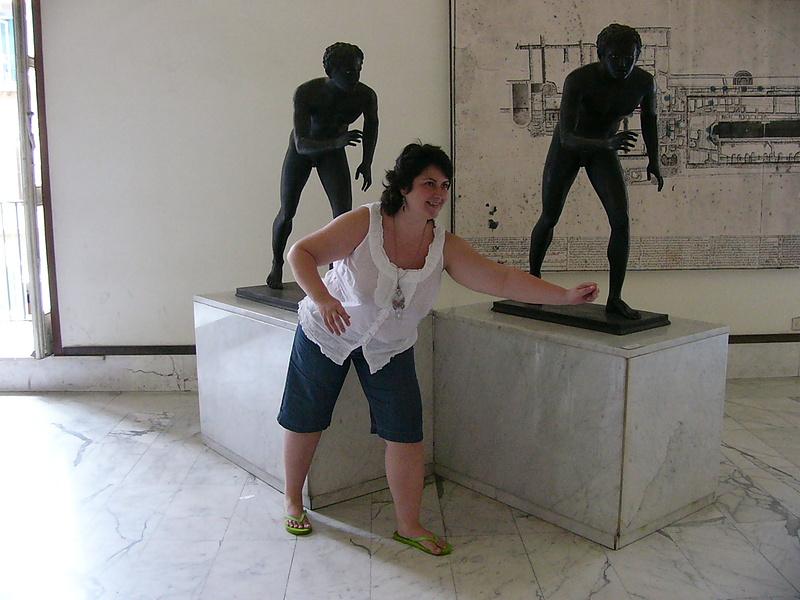 Это я в Археологическом музее Неаполя