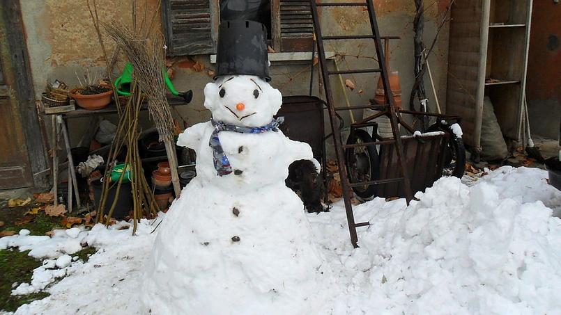 мой снеговичок