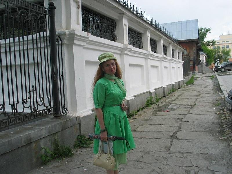 """Наша """"зелёная"""" тётя )))))"""