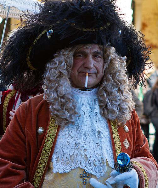 Венецианский карнавал - Персонаж из 1700