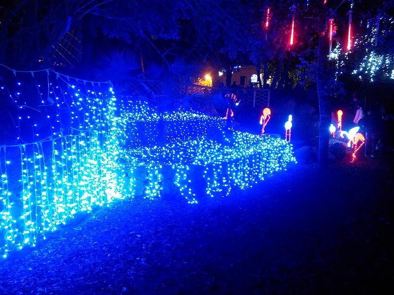Рождественский сказочный лес на острове Искья