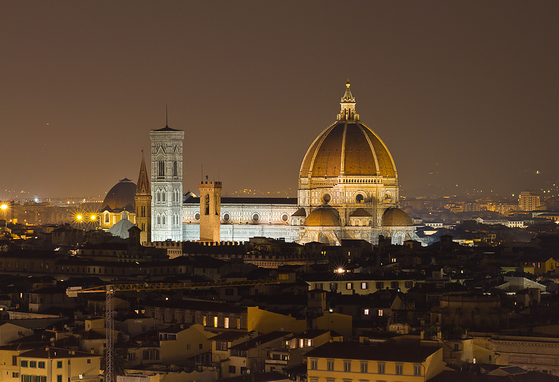 Santa Maria del Fiore ночью