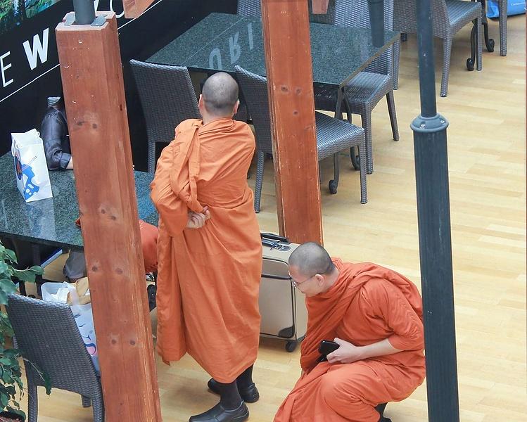Современные будисткие монахи