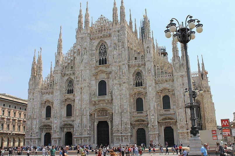 Дуомо ди Милано-европейский долгострой...