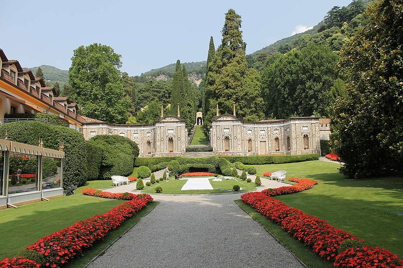 Villa d'Este в Черноббио