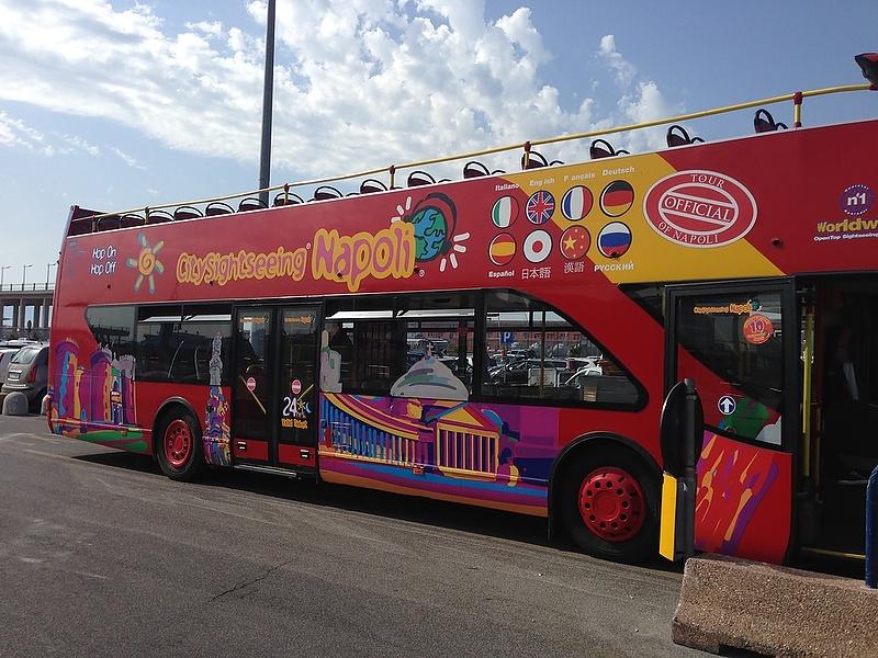 автобус для туристов, а вы на таком катались?