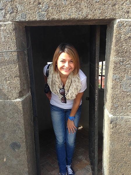 Я в стенах замка Сант'Эльмо
