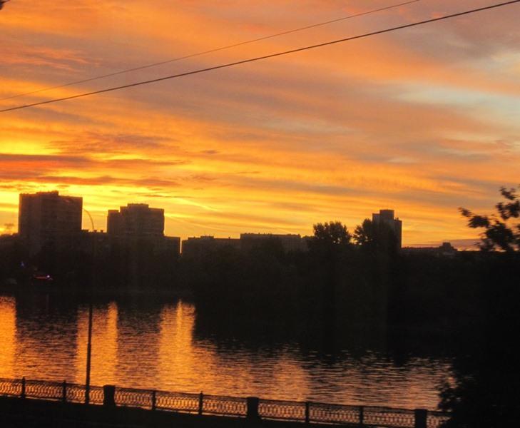 Субботний московский восход