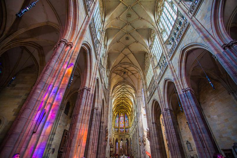 Внутри собора Святого Вита