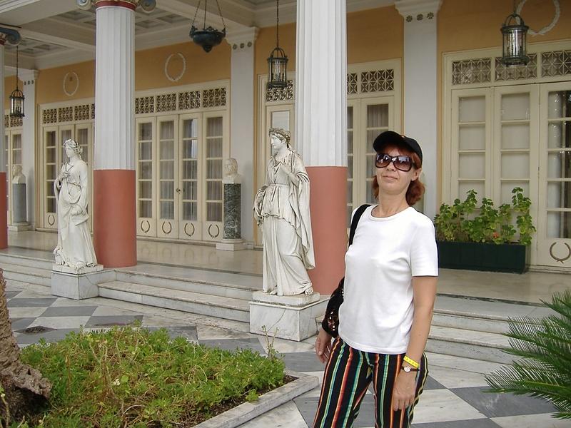 В парке императрицы Сиси на Корфу
