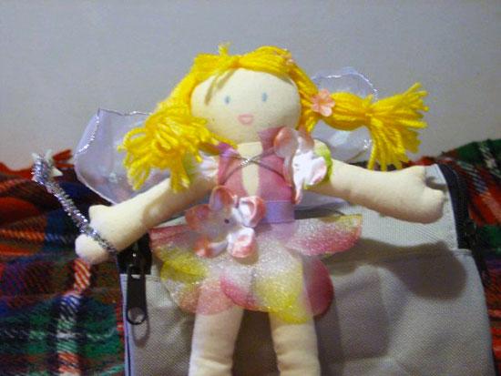 кукла самоделка