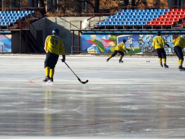 Русский хоккей. Тренировка