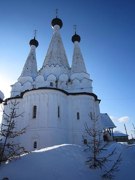 Успенская церковь Алексеевского женского монастыря в г.Угличе