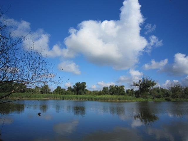 Река и облака