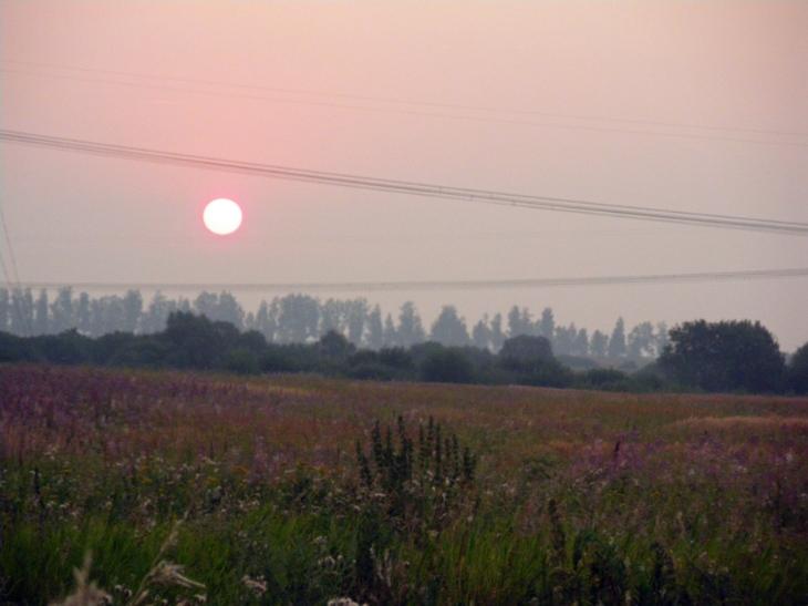 Сегодняшний восход