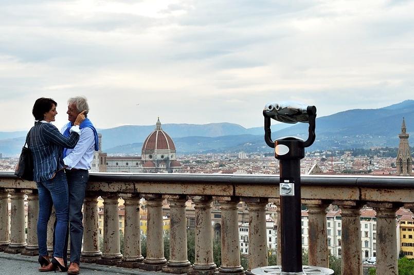 Флоренция на закате
