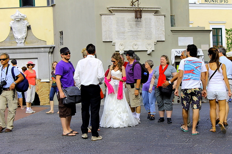 Свадьба на острове Капри