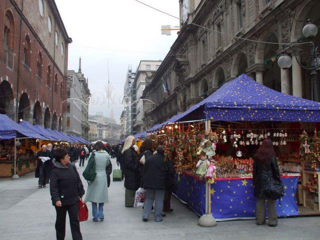 Рождественская ярмарка у Дуомо ди Милано