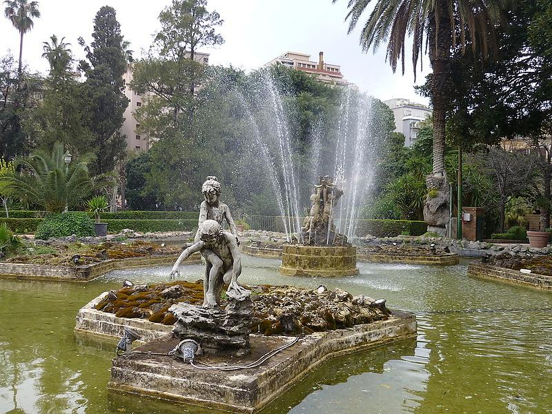 Giardino Inglese, Palermo