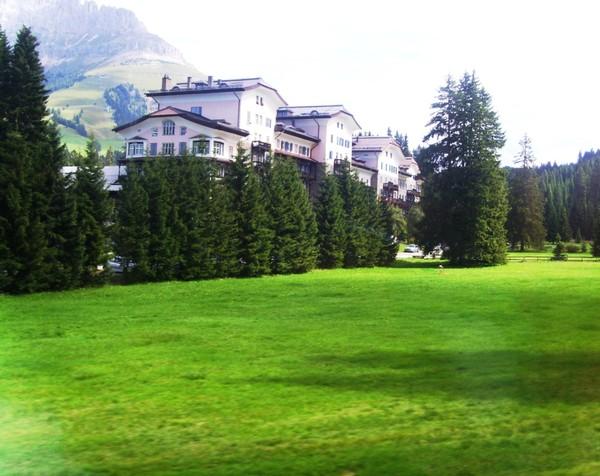 По дороге в Альпы