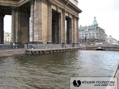 Январское наводнение в Питере