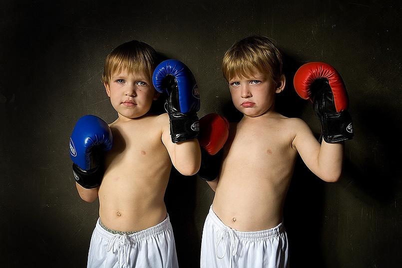 Наши сыновья: Даниил и Кирилл