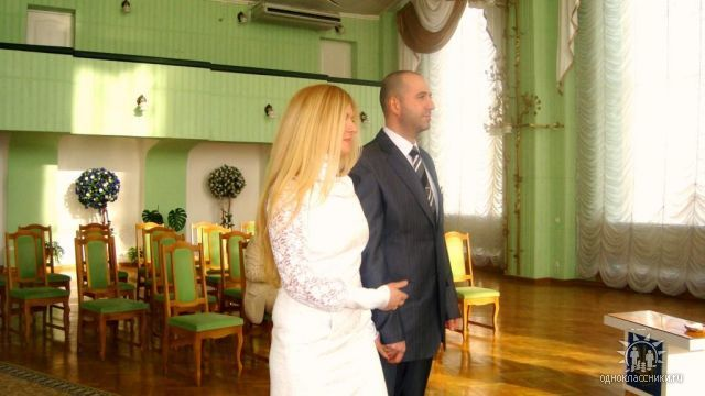 я и любимый Джованеско-) в центральном загсе Киева!