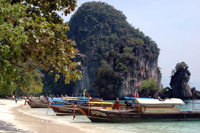 Пейзаж любимой страны - побережье Таиланда