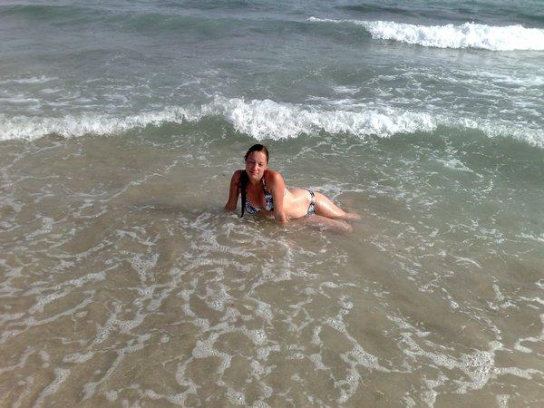 Федорова на море