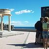 Туристический город на Сицилии Джиардины Наксос.