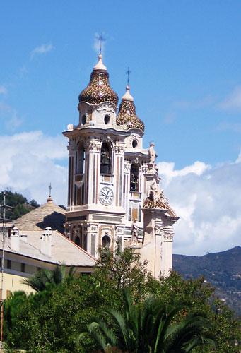 Церковь в Laigueglia