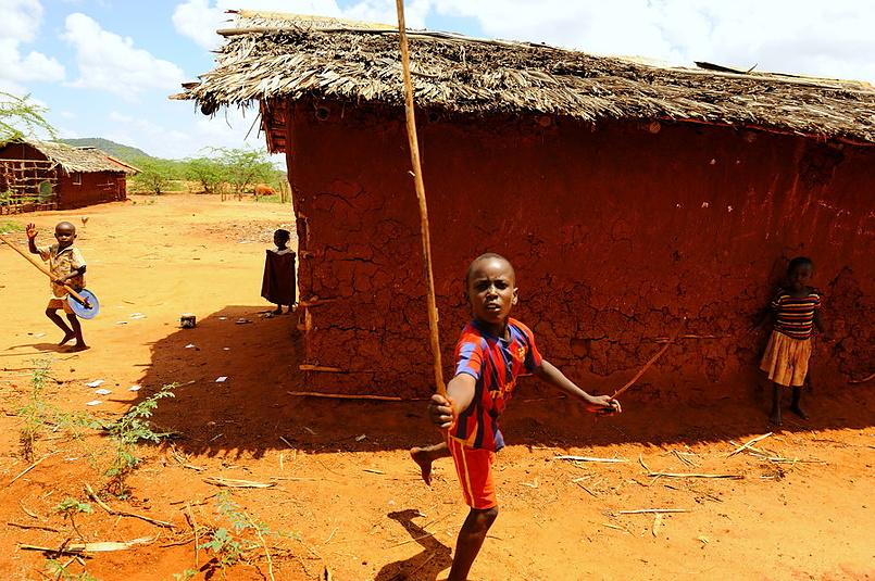 кенийские дети
