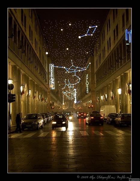 28 декабря 2006. Турин. Ночь. Туман.