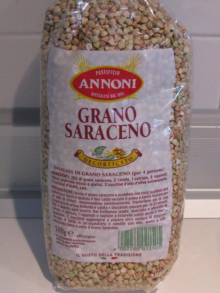 fette di grano saraceno
