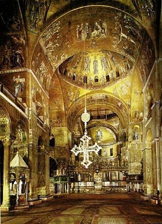 Собор Святого Марка изнутри