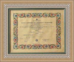 Учеба в Италии признание и подтверждение соответствия диплома об  Итальянский диплом о высшем образовании Фото altervista org