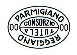 Клеймо Объединения производителей Пармиджано-Реджано