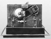Один из первых радиоприемников
