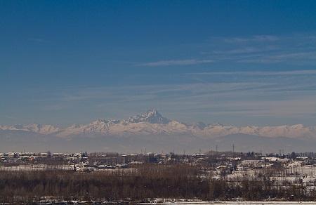 Гора Монвизо (3841 м) – одна из самых высоких в Альпах