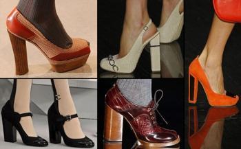Итальянская обувь коллекция осень/зима 2008-2009