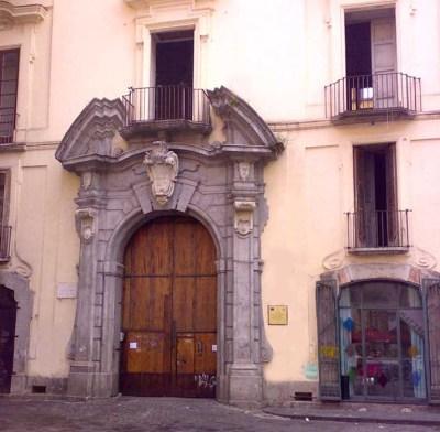 Оформление входа во дворец Дженовезе