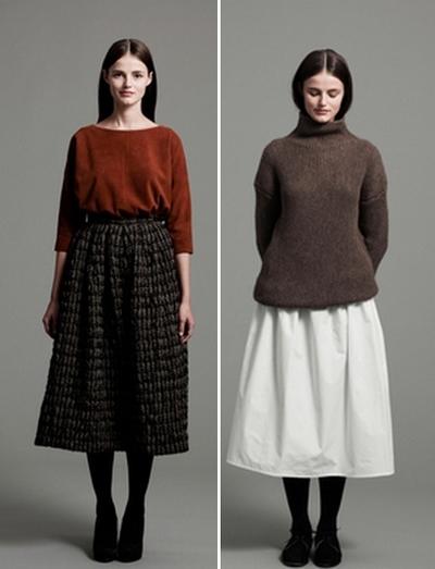 С чем носить этно юбки
